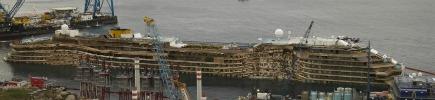 Concordia, governo: 'Piano trasferimento � inadeguato'. Rissa Toscana-Liguria