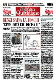 "Renzi salva la Boschi: ""L'immunità l'ho decisa io"""