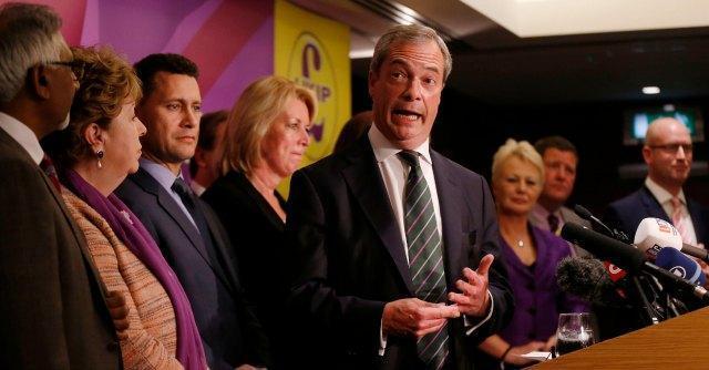 """Grillo-Ukip? Farage: """"Nuovo incontro con un mediatore M5S, segnali positivi"""""""