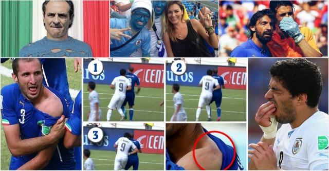 L'Italia è fuori dai Mondiali, fatta a #Brandelli dall'Uruguay (Storify)