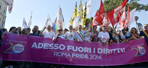 Gay Pride Roma 2014, ora Renzi mantenga le promesse