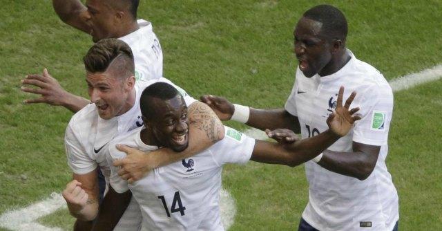 Francia – Nigeria, 2-0. I transalpini conquistano i quarti di finale