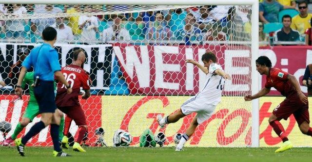 Mondiali 2014, Germania-Portogallo: 4-0. Hummels e tripletta di Muller