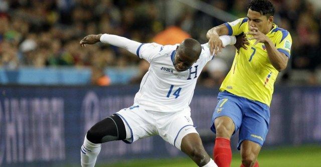 Honduras – Ecuador 1 – 2. Doppietta di Enner Valencia