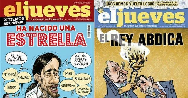 """Spagna, vignetta sulla corona """"sporca"""" censurata la rivista satirica El Jueves"""