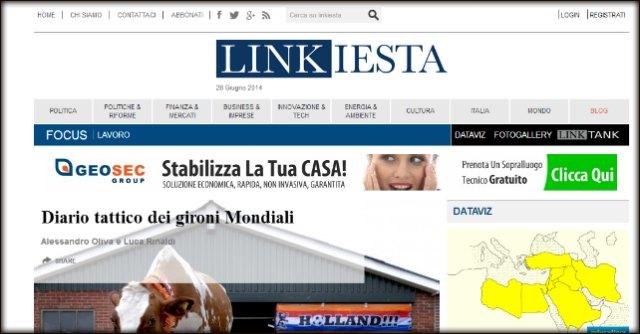 Linkiesta, 1 milione e 100mila euro entro un mese per evitare la liquidazione