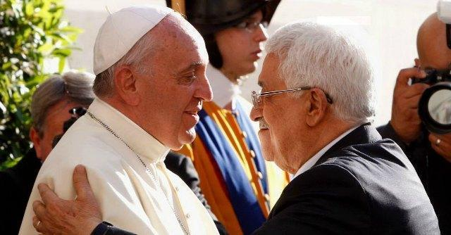 """Papa Francesco a Peres e Abu Mazen: """"Ci vuole coraggio per fare la pace"""""""