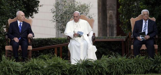 Tra Palestina e Israele vince Bergoglio