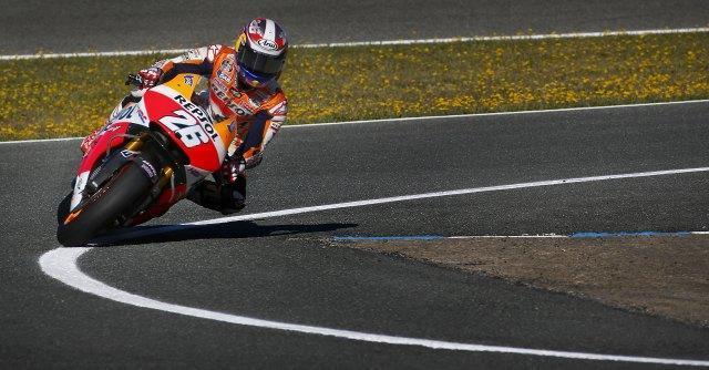 MotoGp Catalogna, Pedrosa in pole position. Marquez terzo, Rossi quinto