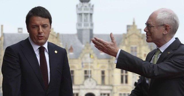 Renzi e Van Rompuy