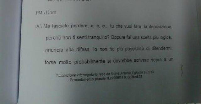 """Camorra, il boss Iovine e le minacce a Saviano: """"Ma che ce ne importa di questo"""""""