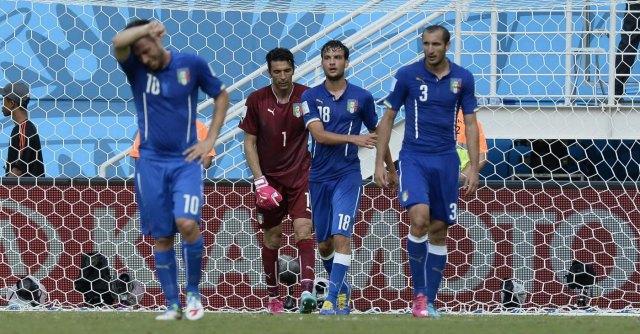 Italia – Uruguay, la maledizione del 24 giugno: in Brasile fuori come in Sudafrica