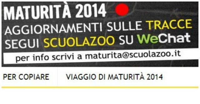 ScuolaZoo, sequestrata pagina del sito: soluzione 'live' delle tracce di maturità