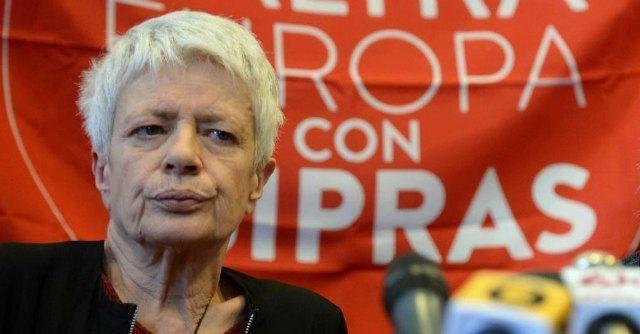 """Tsipras, esclusi attaccano Barbara Spinelli: """"In Europa grazie al nome del padre"""""""