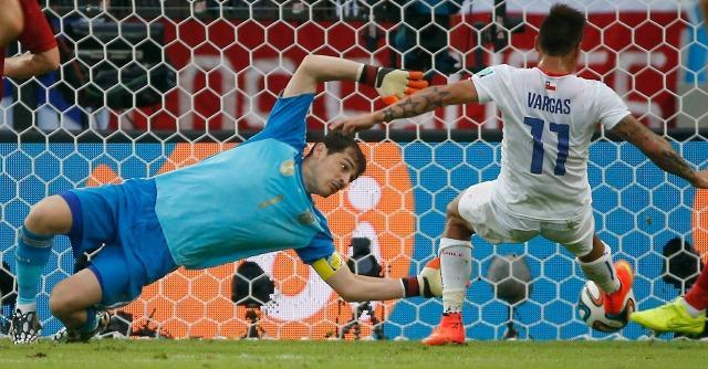 Mondiali 2014, Spagna-Cile 0-2: i campioni del mondo eliminati a sorpresa