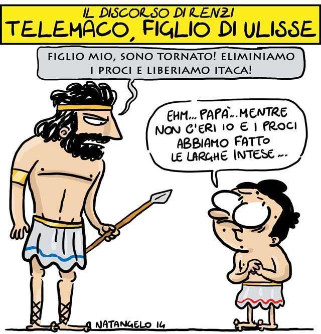 La vignetta del giorno: Telemaco