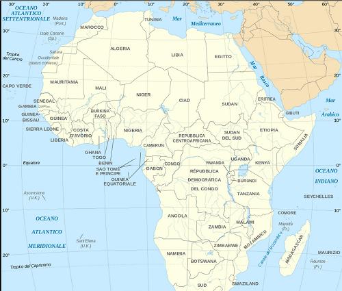 Africa-cartina