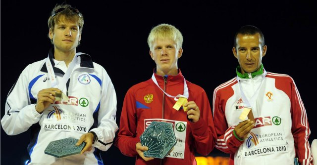 Alex Schwazer, oro per gli Europei 2010. Il russo che vinse squalificato per doping
