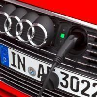 Audi A3 e-tron presa elettricità
