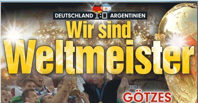 Germania – Argentina sui siti: rigore tedesco. Delusione Albiceleste per Messi