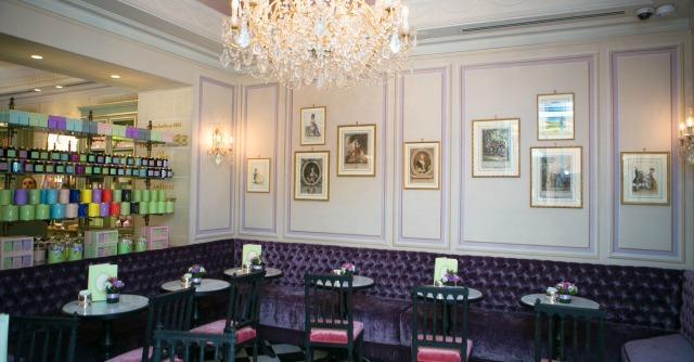 Pasticceria, a Roma la prima sala da tè italiana firmata Ladurée