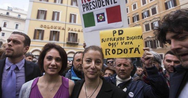 Vincenza Labriola e Roberta Lombardi