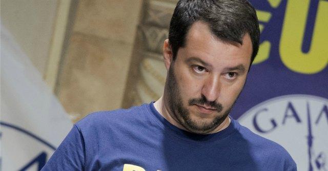 """Lega, Salvini: """"Sciopero fiscale, così facciamo saltare lo Stato il 14 novembre"""""""