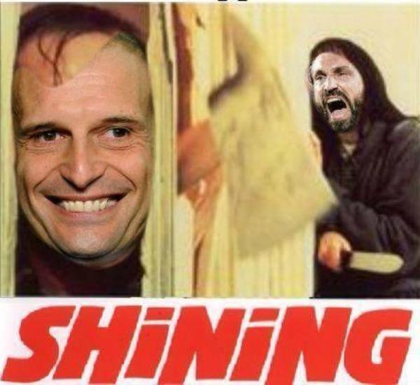 La parodia del film Shining