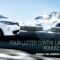 Renault Zoe pubblicità Francia