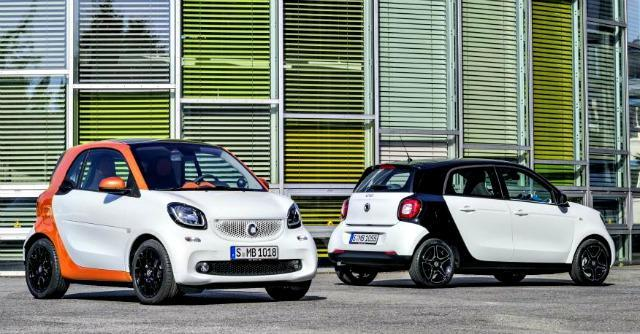 Smart fortwo forfour 2014