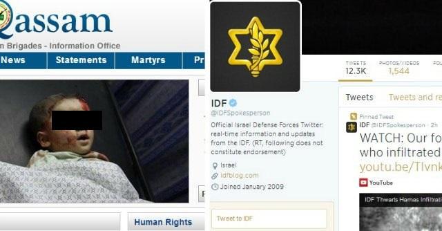"""""""Bisturi mediatico"""" contro sangue e morti Hamas-Israele, è guerra anche sui social"""