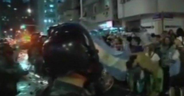 Germania – Argentina, scontri a Buenos Aires: almeno 20 feriti