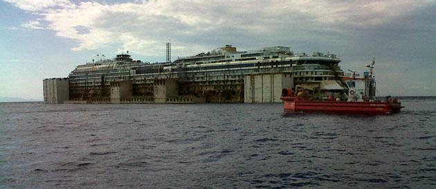 Costa Concordia, #sorvegliataspeciale fino a Genova