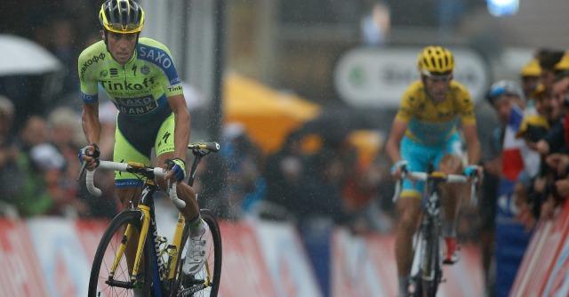 Tour de France 2014: Contador attacca in salita. Nibali resiste senza problemi