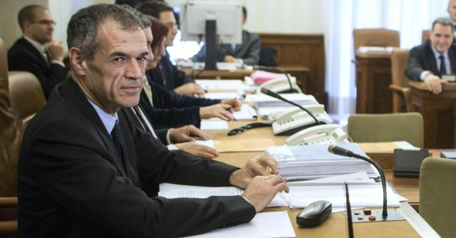 "Spending review, Cottarelli: ""No calo tasse se si spendono i risparmi"""
