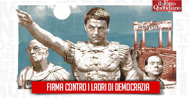 Riforme costituzionali: caro Renzi, ascolti i 100mila