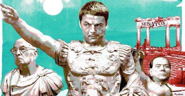 """Patto Renzi-Berlusconi, il modello """"super-premier"""" senza opposizione"""
