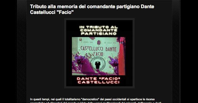 Anonymous, down il sito del partito democratico in omaggio al partigiano Facio