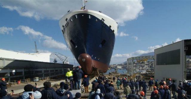 Traghetti, Fincantieri vara il primo a gas naturale. Ma navigherà in Canada