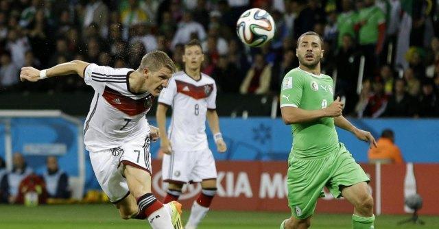 Ottavi finale mondiali 2014: la Germania fatica ma piega l'Algeria e vola ai quarti