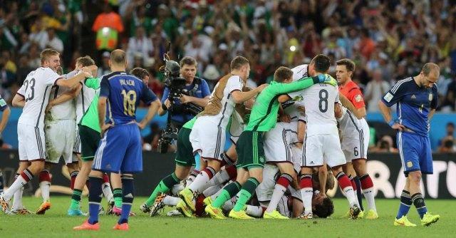 Finale Brasile: Germania campione del Mondo, Argentina battuta 1 a 0