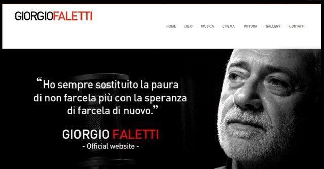 Giorgio Faletti: musica e scrittura, l'arte di fare tante cose. E di farle tutte bene