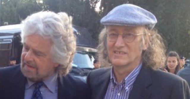 """Grillo e Casaleggio alla festa consolato Usa: """"Riforme? Dialogo dipende da Renzi"""""""