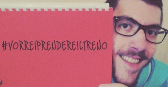 Disabili, 22enne fiorentino lancia l'hashtag #vorreiprendereiltreno