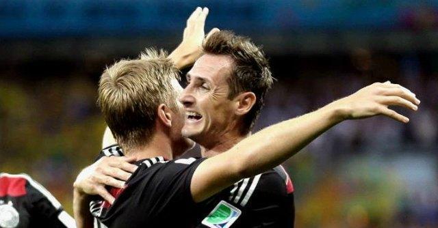 Mondiali, Klose vola a 16 reti e supera Ronaldo: è il miglior bomber di sempre