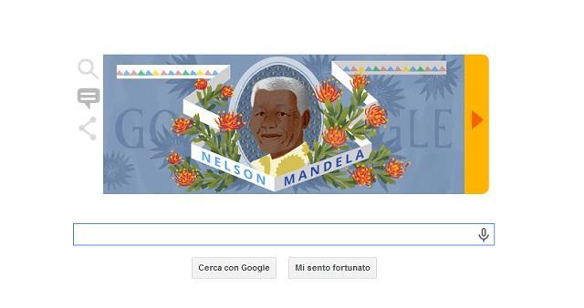 Mandela-Day Google Doodle