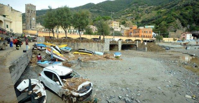 Alluvione Liguria, pm La Spezia indaga su briglie di cemento di Monterosso