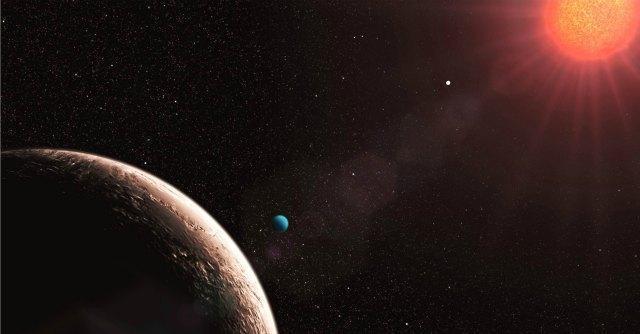 Scoperto il primo sistema solare doppio grazie al cacciatore di pianeti Harps-N