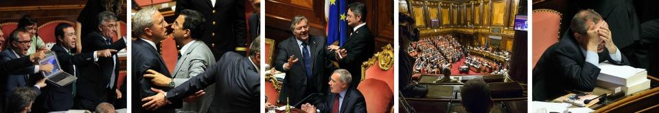 Riforme, al Senato sfiorata rissa Pd-M5s In Aulail fantasma del patto del Nazareno