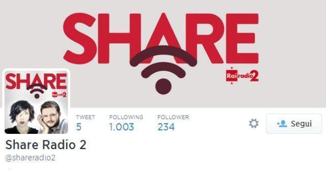 Share, su Radio2 il programma di Neri per risalire alle notizie più social